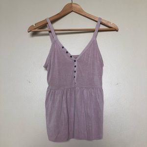 Button Up Soft & Sexy Camisole, S || AmericanEagle